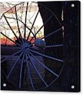Satellite Sunset Acrylic Print