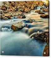 Saturation Of A River Acrylic Print