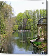 Saturday Afternoon At Longwood Gardens Acrylic Print
