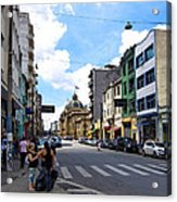 Saturday Afternoon In Sao Paulo Acrylic Print