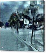 Saturday Morning Rain Acrylic Print