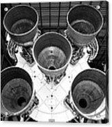 Saturn Five Rocket Work B Acrylic Print