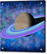 Saturn Journey Acrylic Print
