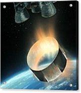 Saturn V Interstage Separation, Artwork Acrylic Print