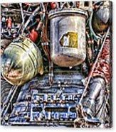 Saturn V J-2 Rocket Engine Acrylic Print