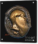 Satyr Or Silenos Acrylic Print by Patricia Howitt