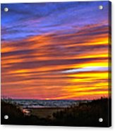 Sauble Sunset Acrylic Print