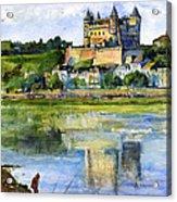 Saumur Chateau France Acrylic Print
