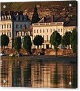 Saumur Reflected Acrylic Print