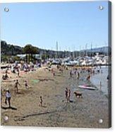 Sausalito Beach Sausalito California 5d22696 Acrylic Print by Wingsdomain Art and Photography