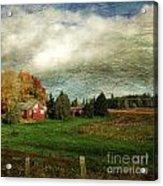 Sauvie Island Farm Acrylic Print