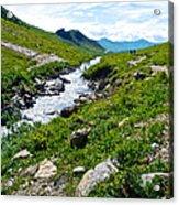 Savage River From Savage River Trail In Denali Np-ak    Acrylic Print