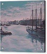 Savannah Harbor 1900 Acrylic Print