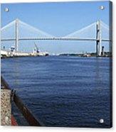 Savannah River Bridge Ga Acrylic Print