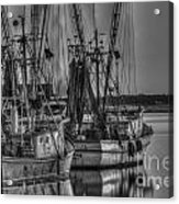 Save The Lowcountry Shrimping  Acrylic Print
