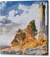 Savudrija Lighthouse Acrylic Print