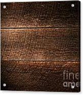 Saw Marks On Wood Acrylic Print by Olivier Le Queinec