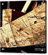 Saw Tracks On The Santa Maria Acrylic Print
