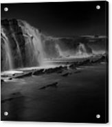 Sawarna Beach Acrylic Print
