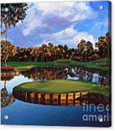 Sawgrass 17th Hole Acrylic Print