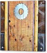 Sawmill Door Acrylic Print