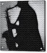 Sax On The Bricks Acrylic Print