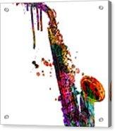 Saxophone 2 Acrylic Print