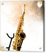Saxophone  Acrylic Print by Bob Orsillo