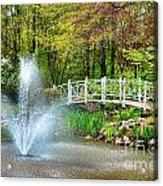 Sayen Garden Impression Acrylic Print
