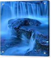 scantic blues II Acrylic Print