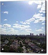 Scarborough City View Acrylic Print