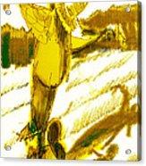Scarecrow Babysitter Acrylic Print