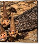 Scarecrow Cupcakes Acrylic Print