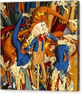 Scarecrows Acrylic Print