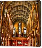 Sacred Heart Cultural Center 2 Acrylic Print