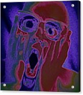 Scared Silly Acrylic Print