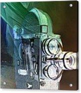 Scarf Camera In Negative Acrylic Print