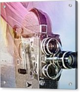Scarf Camera Acrylic Print
