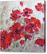 Scarlet Poppies Acrylic Print