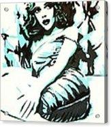 Scarlett Blues Acrylic Print
