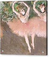 Scene De Ballet Acrylic Print