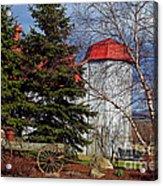 Scene In Vermont Acrylic Print