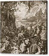 Scene Of Hell, 1731 Acrylic Print