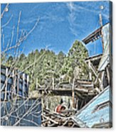 Scenes From An Abandoned Factory In South Dakota 2 Acrylic Print