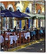 Scenes From Plaza Machado Acrylic Print