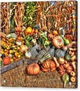 Scenes Of The Season Acrylic Print