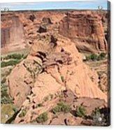 Scenic Canyon De Chelly  Acrylic Print