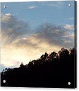 Scenic Evening Sky Acrylic Print