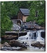 Scenic Grist Mill Acrylic Print