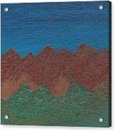 Scenic Mountains Acrylic Print